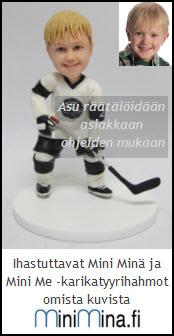 UUTUUS Mini Minä -jääkiekkoilija, asu räätälöidään tilauksesta